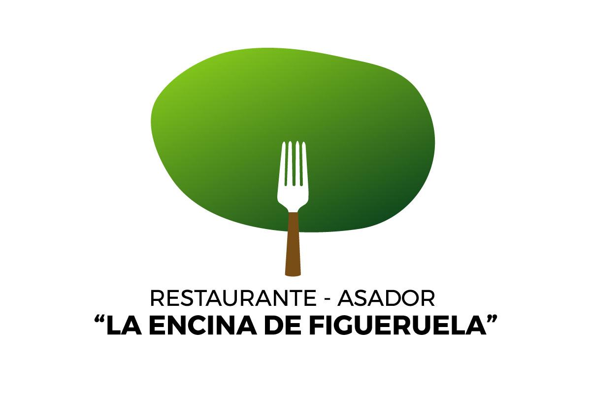 """Logo """"La encina de Figueruela"""""""